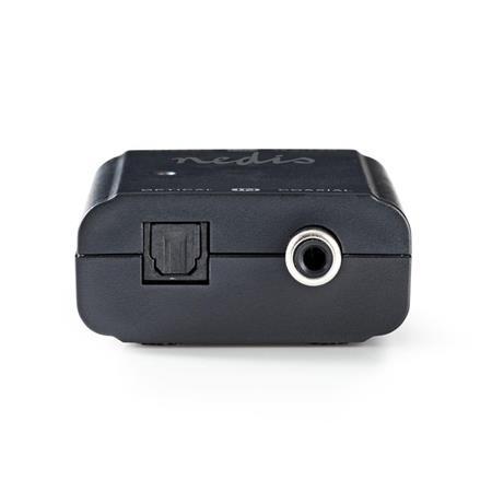 Nedis ACON2502AT - Digitální audio převodník | Dvojcestný - Digitální RCA (S/PDIF) + TosLink | Digitální RCA (S/PDIF) + TosLink