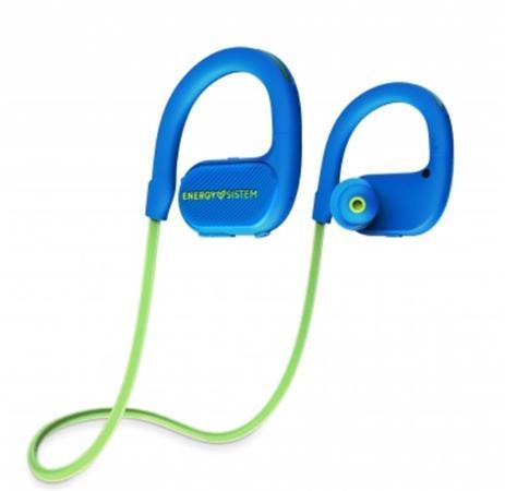 ENERGY Earphones BT Running 2 Neon Green, Bluetooth sluchátka s LED osvětlením