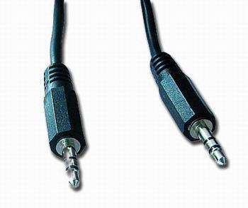 Kabel CABLEXPERT přípojný jack 3,5mm M/M, 2m, audio