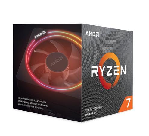 AMD cpu Ryzen 7 3700X AM4 Box (8core, 16x vlákno, 3.6GHz / 4.4GHz, 32MB cache, 65W), s chladičem Wraith Prism RGB