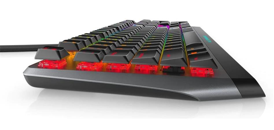 Alienware Low-profile RGB Mechanical Gaming Keyboard- AW510K (Dark Side of the Moon)