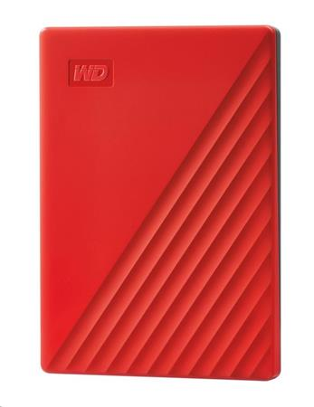 """WD My Passport portable 2TB Ext. 2.5"""" USB3.0 Red"""