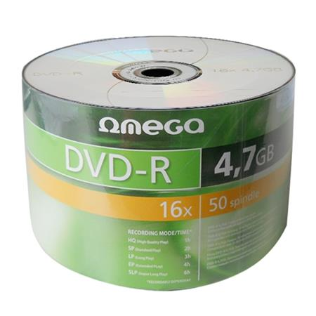 OMEGA DVD-R 4,7GB 16X SP*50 [40933]