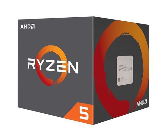AMD cpu Ryzen 5 1600 Box AM4 (6core, 12x vlákno, 3.2GHz / 3.6GHz, 16MB cache, 65W), chladič Wraith Stealth