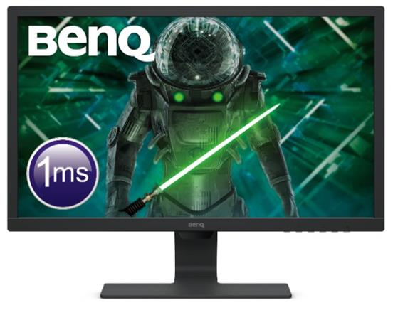 "BenQ LCD GL2480E 24""W,1920x1080,250 nits,1000:1,1ms,D-sub/DVI,HDMI,VESA,cable:VGA,Glossy Black"