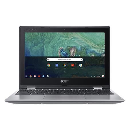 "Acer Chromebook Spin 11 (CP311-2HN-C1XT) Celeron N4120/4GB+N/A/eMMC 64GB+N/A/UHD Graphics 600/11.6""MultiTouch HD IPS/Chrome/Silver"