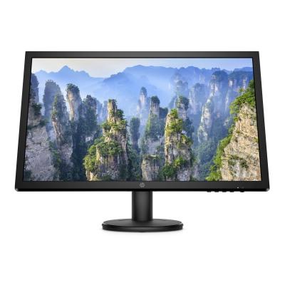 """HP LCD V24 24""""/1920x1080 TN FHD AG/16:9/1000:1/250cd/5ms/1xVGA/1xHDMI/VESA/Black"""