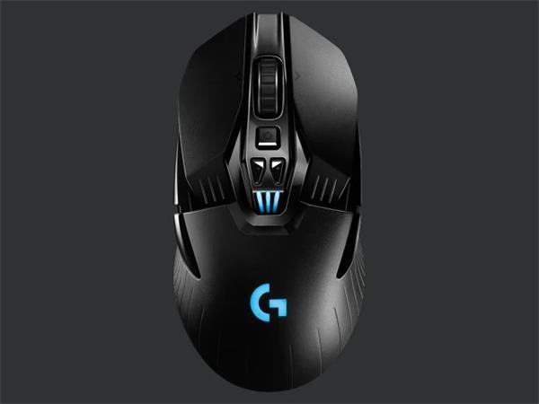 Logitech myš Gaming G903 Lightspeed Wireless, HERO16K sensor / optická / 11 tlačítek / 16000dpi - černá