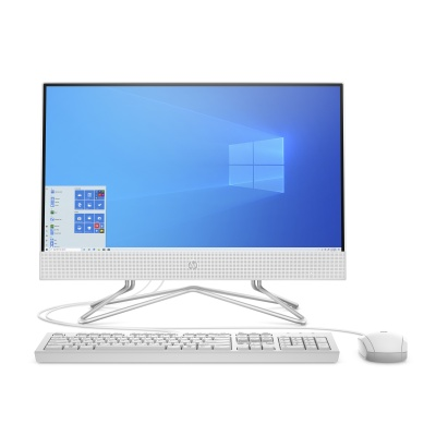 HP AIO 22-df0005nc/21,5'' IPS FHD AG/Core i3-1005G1/8GB/512GB SSD/Intel UHD/No ODD/4xUSB/1xHDMI/RJ45/Win 10 Home/White