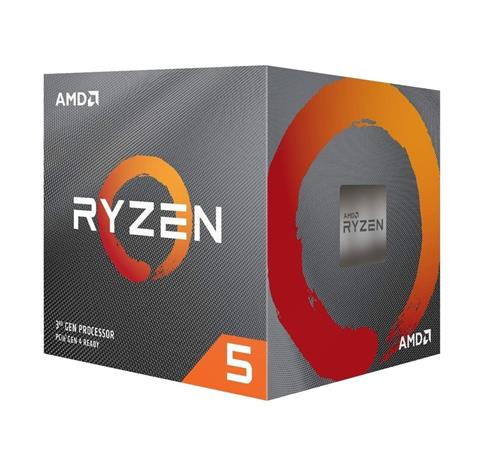 AMD cpu Ryzen 5 3500X Box AM4 (6core 6x vlákno 36GHz  41GHz 32MB cache 65W) chladič Wraith Stealth