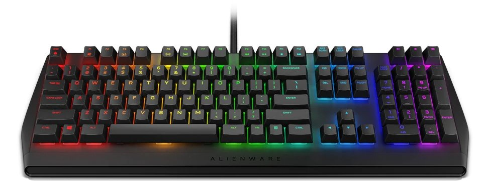 Alienware Mechanical RGB Gaming Keyboard  AW410K US Int (QWERTY)