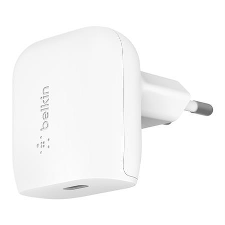 Belkin 20W USB-C nástěnná Power Delivery nabíječka, bílá