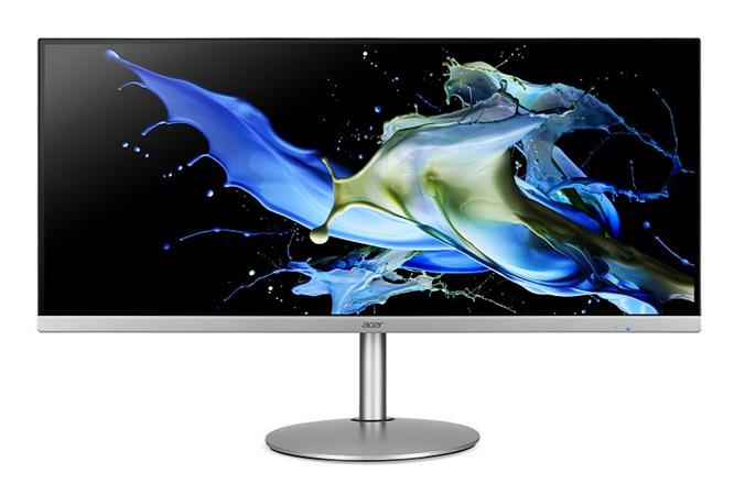 """Acer LCD CB342CKsmiiphzx 34"""" IPS LED/3440x1440@75Hz/100M:1/1ms/2xHDMI 2.0, DP 1.4, Audio Out/repro/ Silver"""