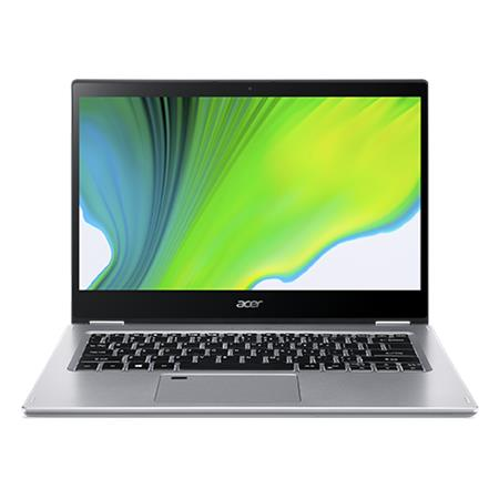 "Acer Spin 3 (SP314-54N-59CC) i5-1035G4/16GB+N/A/512GB SSD+N/Iris Plus Graphics/14"" FHD IPS Touch lesklý/BT/W10 Pro/Silver"