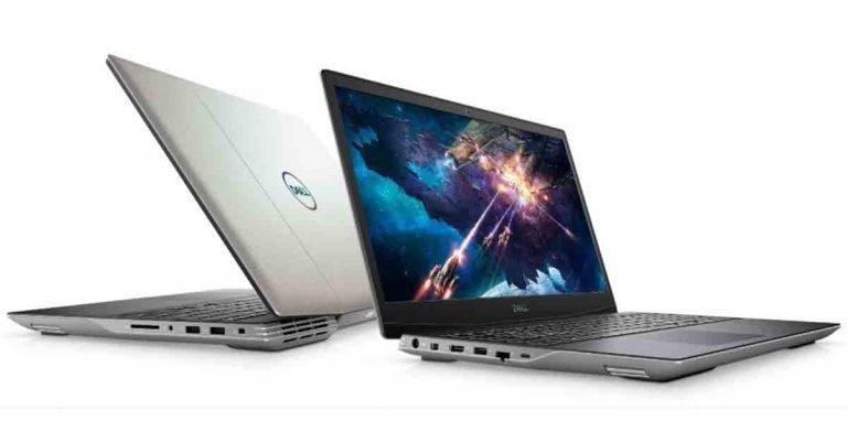 """DELL G5 15(5505)/Ryzen 5 4600H/8GB/512GB SSD/15,6""""/FHD 120Hz/AMD 6GB RX 5600M/W10H/stříbrný"""