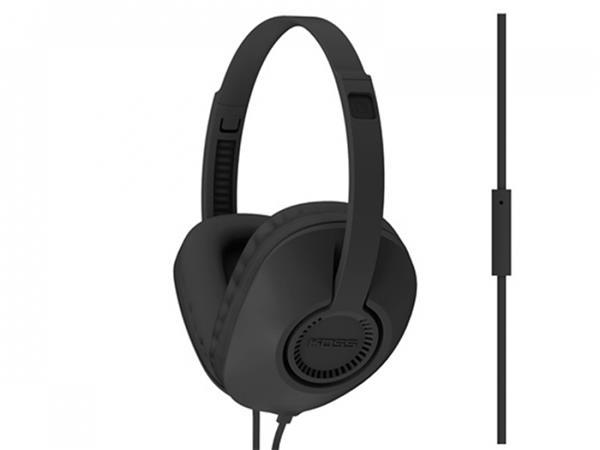 KOSS sluchátka UR23i, profesionální sluchátka s mikrofónem, bez kódu, černé