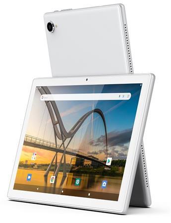 "iGET SMART W202 - 10,1"" /1280x800/IPS/1.6 GHz Quad Core/2GB RAM+32GB ROM/2.0 MPx+0.3 MPx/Android 11/stříbrná"
