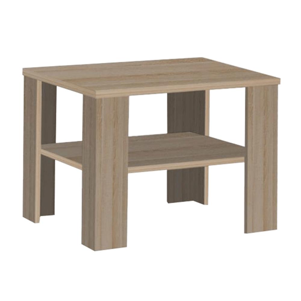 TEMPO KONDELA Konferenčný stolík, dub sonoma truflový, INTERSYS 21