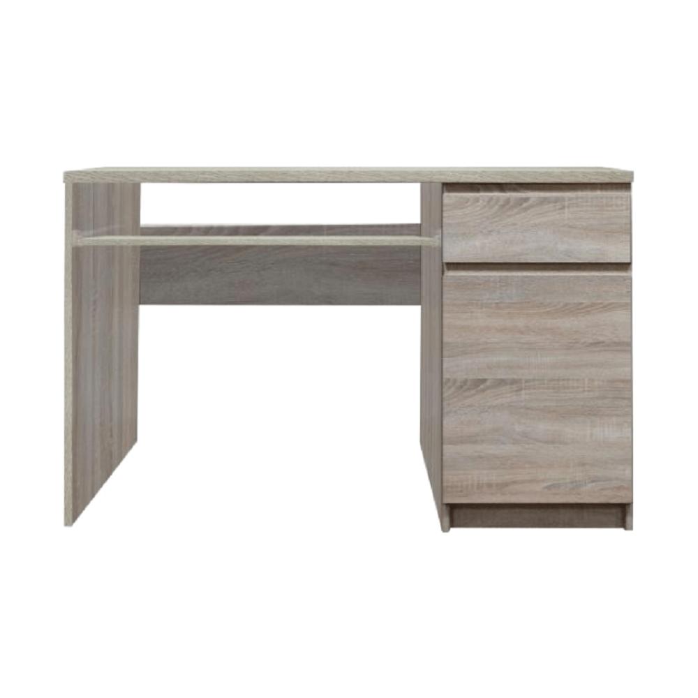 TEMPO KONDELA PC stôl, dub sonoma, PANAMA typ 10