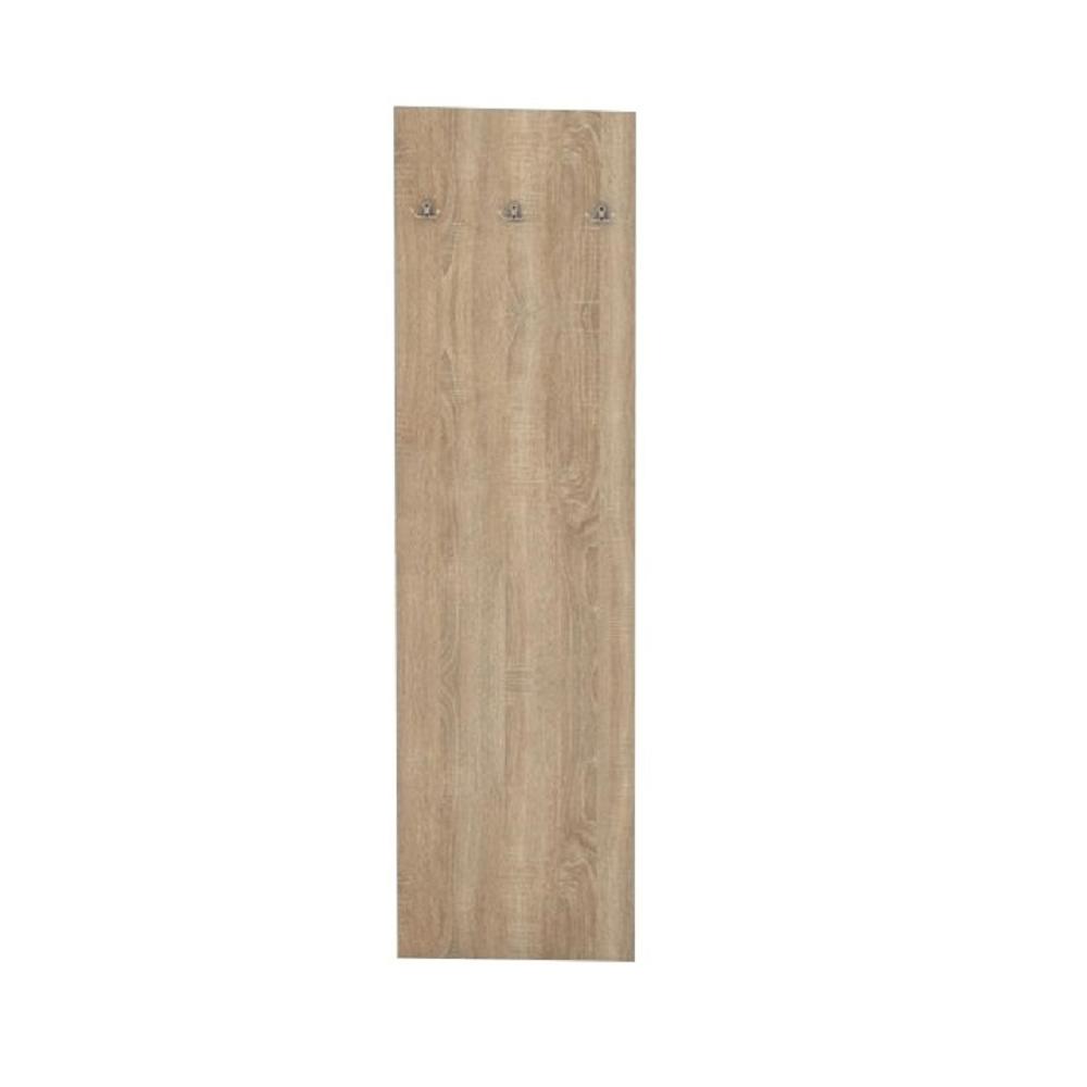 TEMPO KONDELA Vešiakový panel, dub sonoma, TEMPO ASISTENT NEW 030