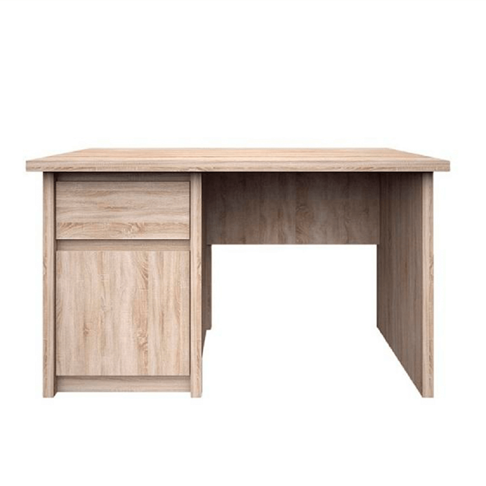TEMPO KONDELA PC stôl 1D1S/120, dub sonoma, NORTY TYP 12