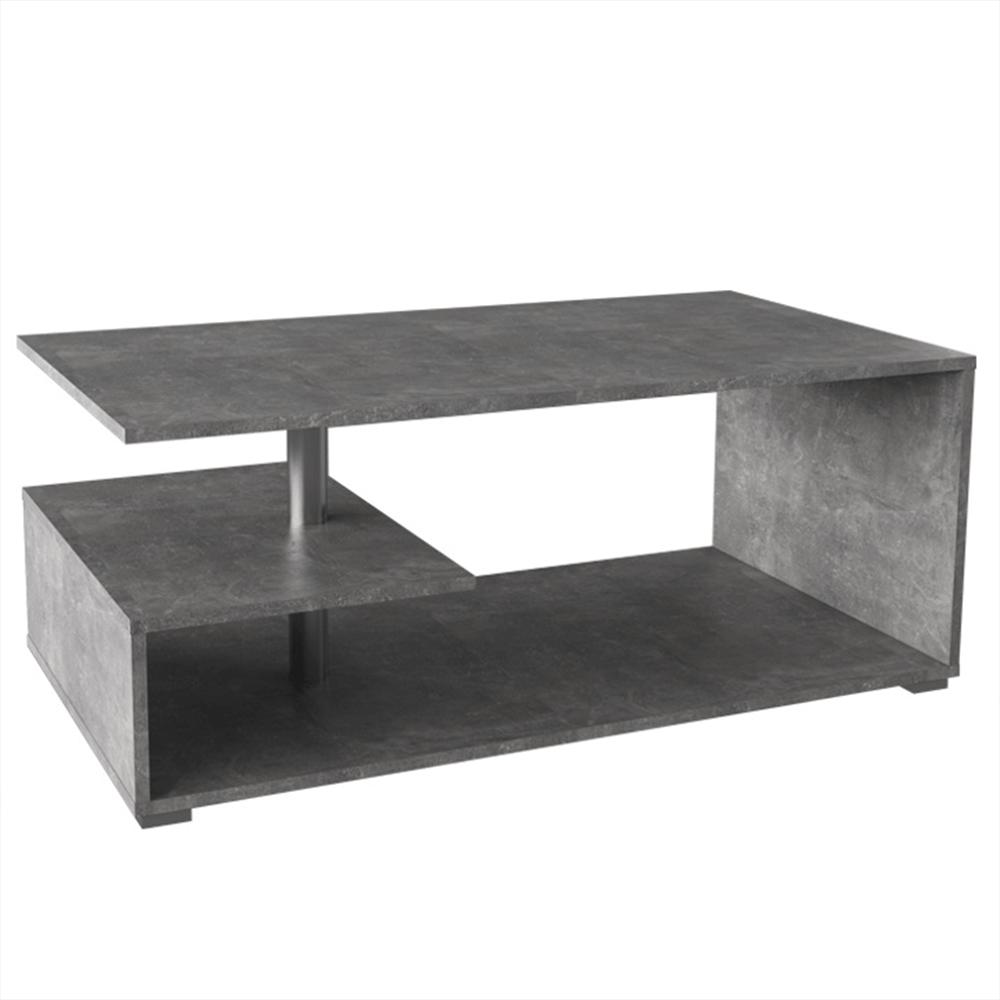 TEMPO KONDELA Konferenčný stolík, betón, DORISA