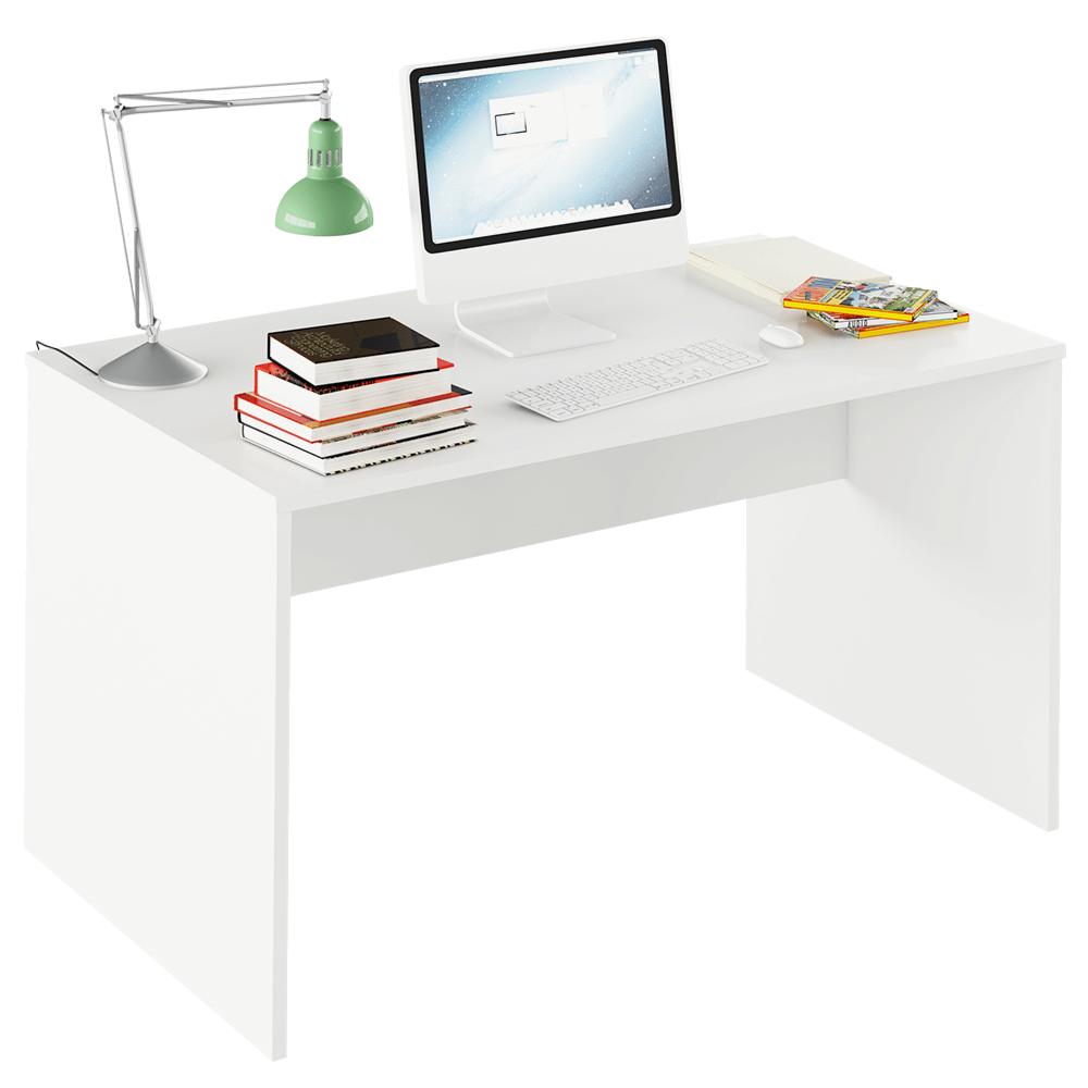 TEMPO KONDELA Písací stôl, biela, RIOMA TYP 11