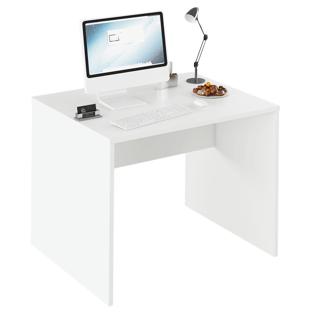 TEMPO KONDELA Písací stôl, biela, RIOMA TYP 12