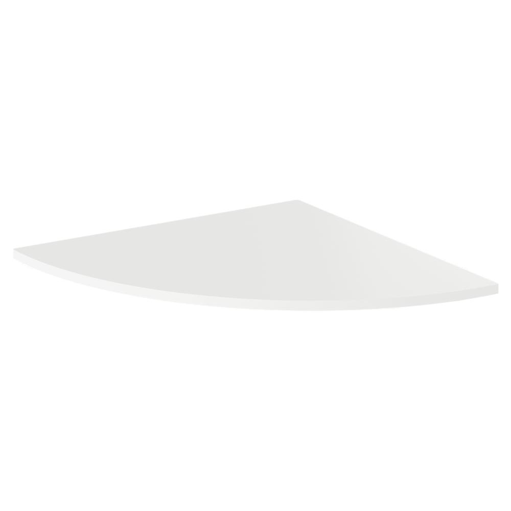 TEMPO KONDELA Roh k PC stolu, biela, RIOMA TYP 13