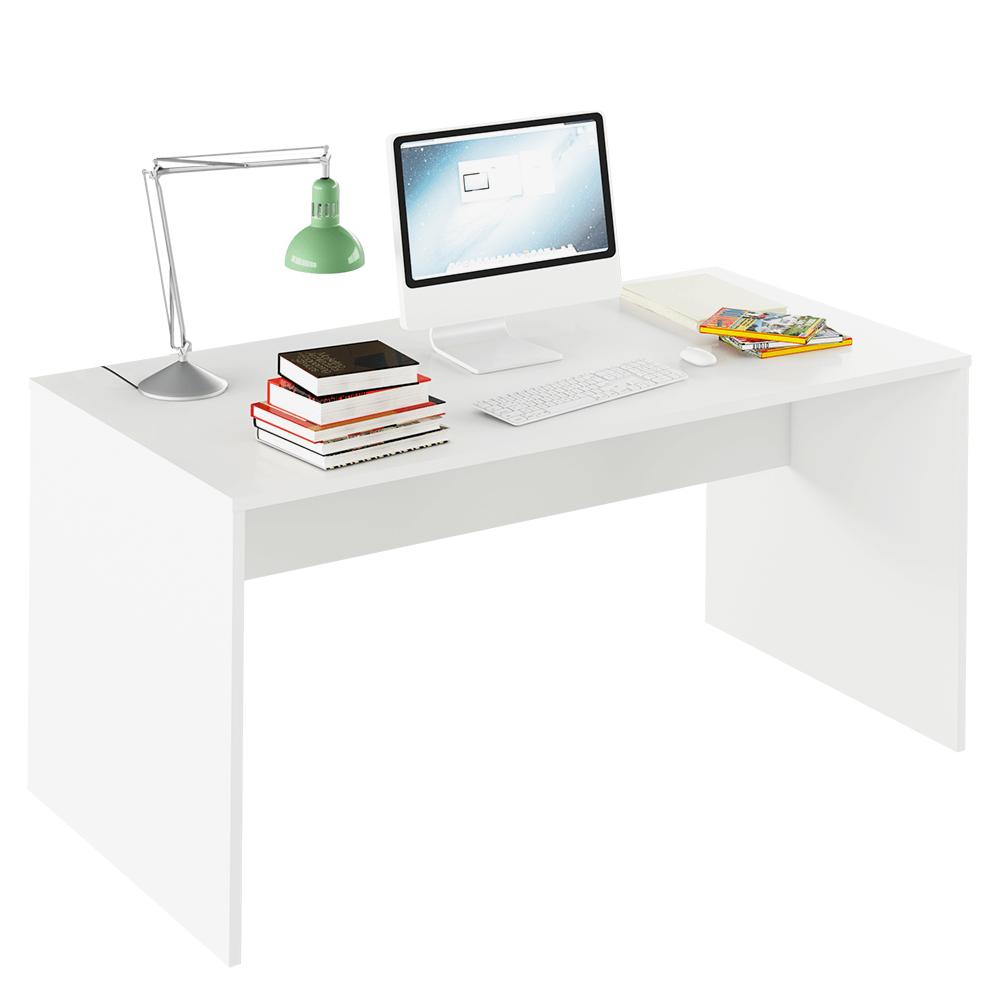 TEMPO KONDELA Písací stôl, biela, RIOMA TYP 16