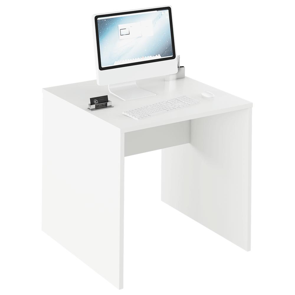 TEMPO KONDELA Písací stôl, biela, RIOMA TYP 17