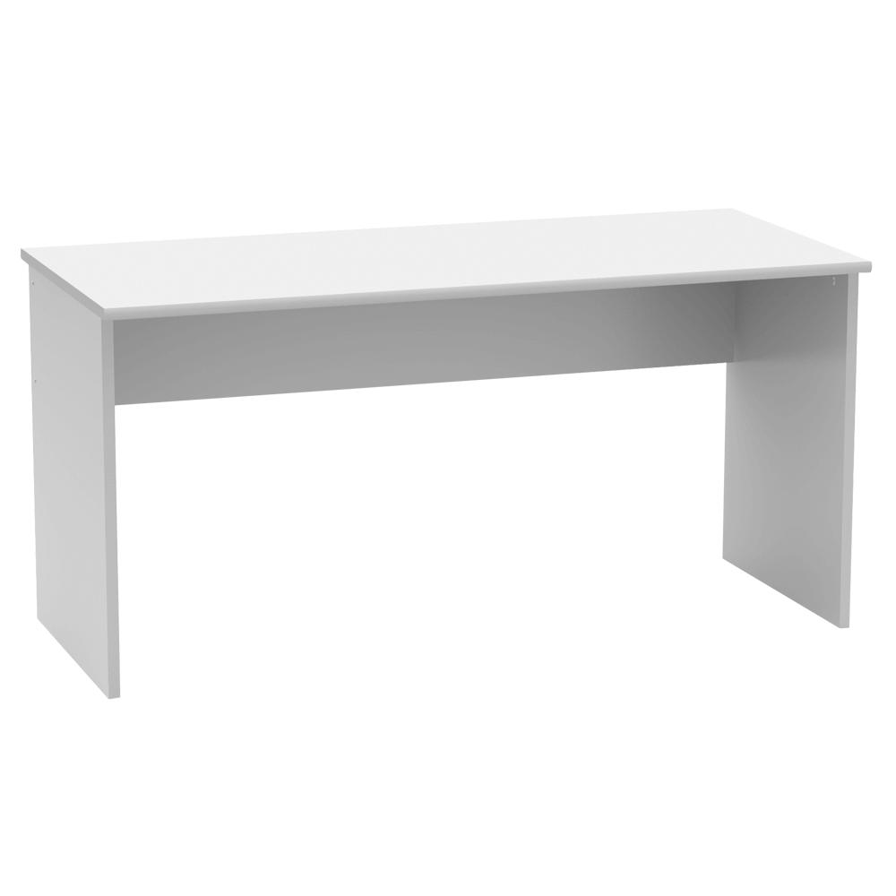 TEMPO KONDELA Písací stôl, biela, JOHAN 2 NEW 01