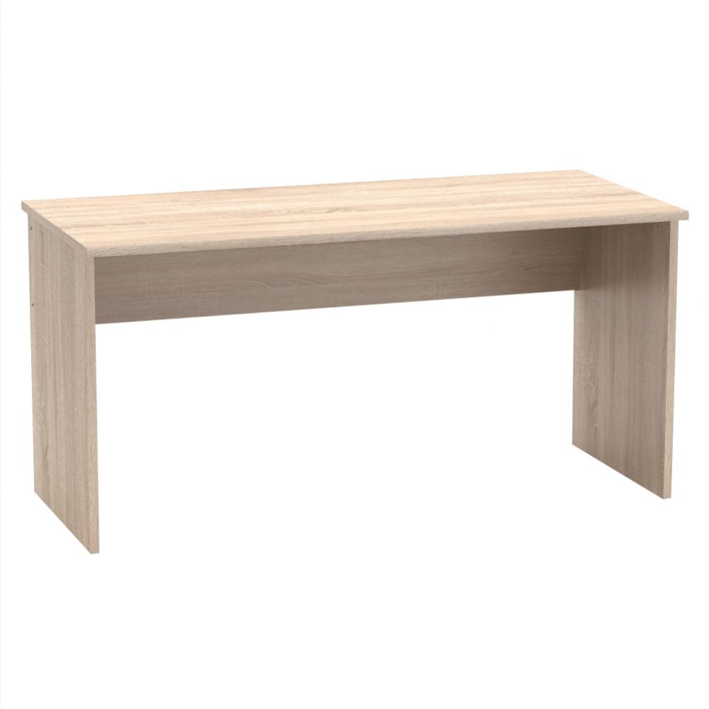 TEMPO KONDELA Písací stôl, dub sonoma, JOHAN 2 NEW 01