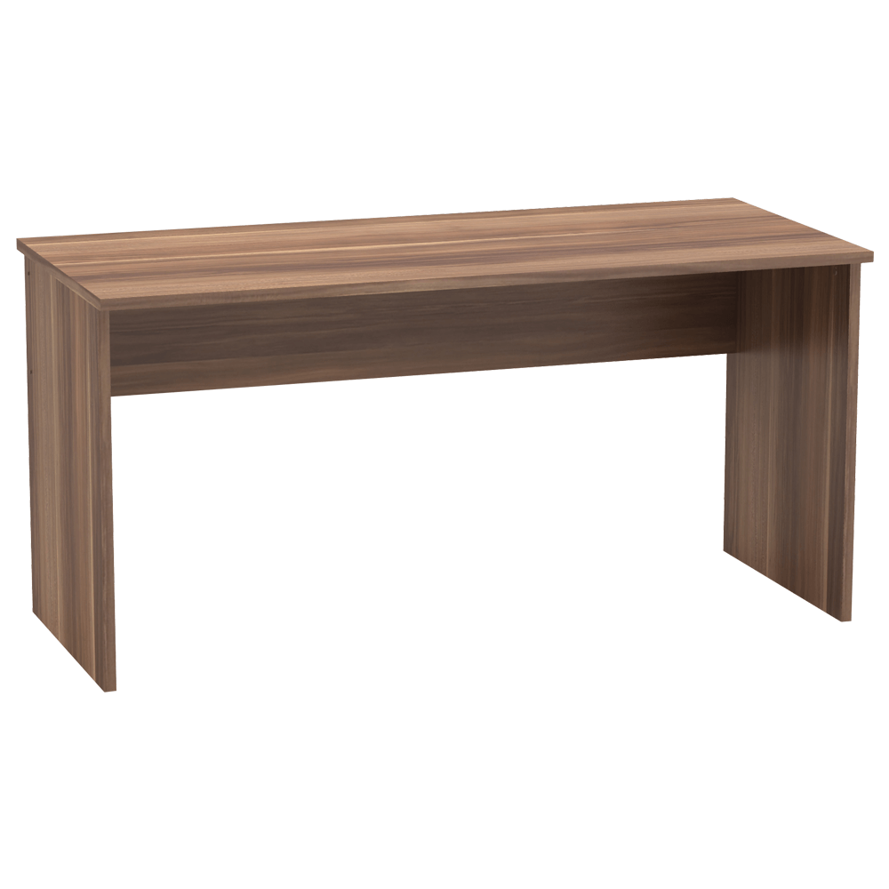 TEMPO KONDELA Písací stôl, slivka, JOHAN 2 NEW 01