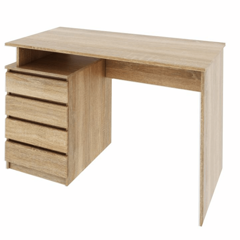TEMPO KONDELA PC stôl, dub sonoma, HANY NEW