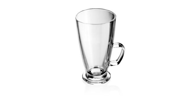 Sklenený hrnček latté macchiato CREMA 300 ml