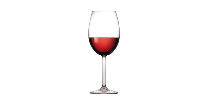 Poháre na červené víno CHARLIE 450 ml, 6 ks