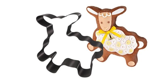 Forma na pečenie/vykrajovač Veľkonočná ovečka DELÍCIA