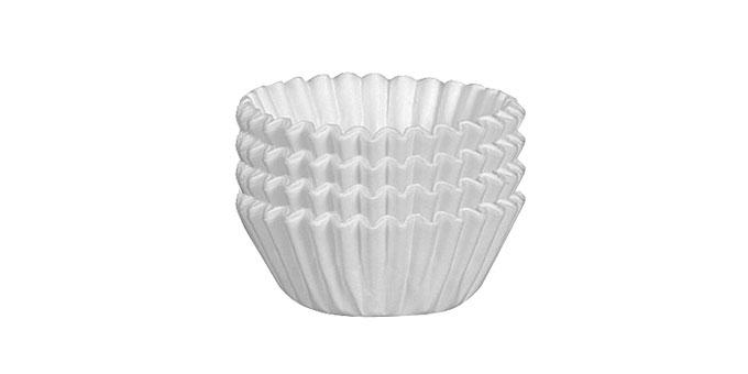 Cukrárske košíčky DELÍCIA ø 6.0 cm, 100 ks, biele