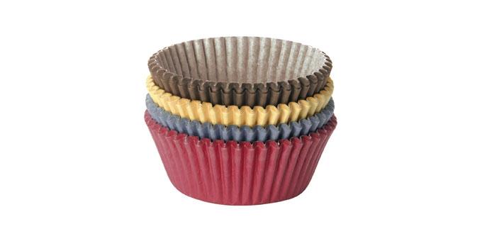 Cukrárske košíčky DELÍCIA, ø 6.0 cm, 100 ks, farebné