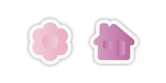 Univerzálne vykrajovače DELÍCIA KIDS, kvetinka a domčeky