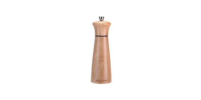 Mlynček na korenie/soľ VIRGO WOOD 14 cm