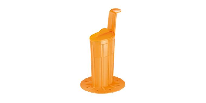 Tvorítko na zmrzlinovú polevu BAMBINI, oranžová