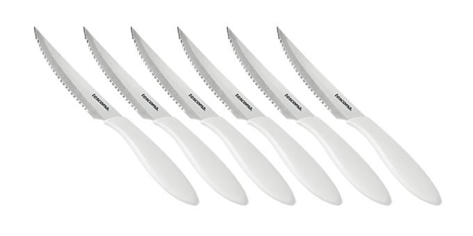 Nôž steakový PRESTO 12 cm, 6 ks, biela