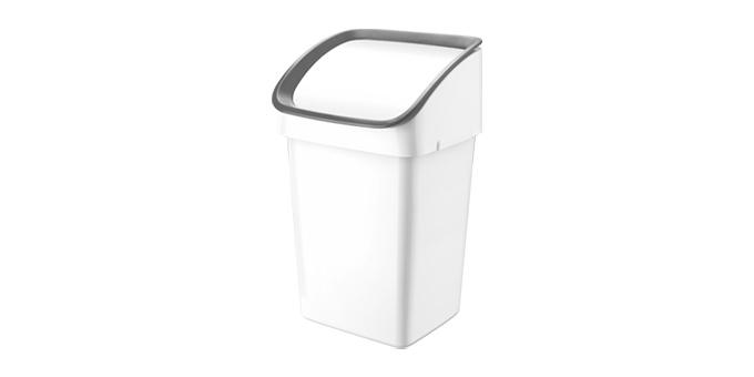 Odpadkový kôš CLEAN KIT 21 l, šedý