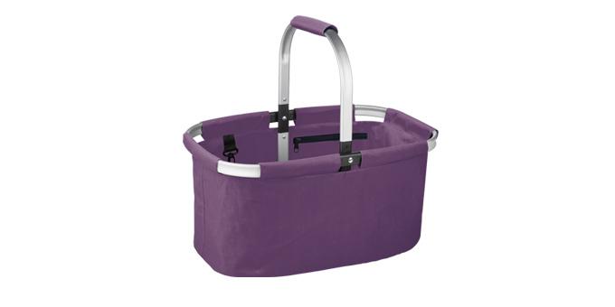 Nákupný košík skladací SHOP! , fialová