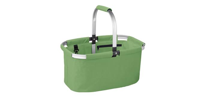 Nákupný košík skladací SHOP! , zelená