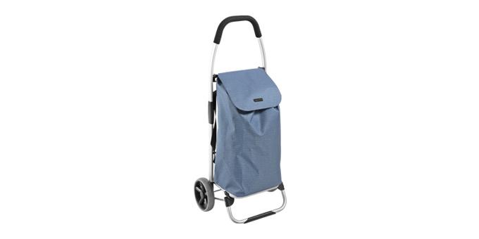 Nákupná taška na kolieskach SHOP !, modrá