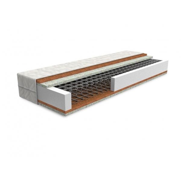 Pružinový matrac ERGON 195 x 90 cm Bamboo