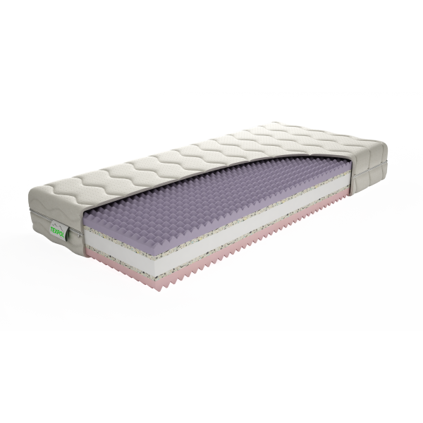 Pohodlný matrac GINA 195 x 90 cm Tencel®